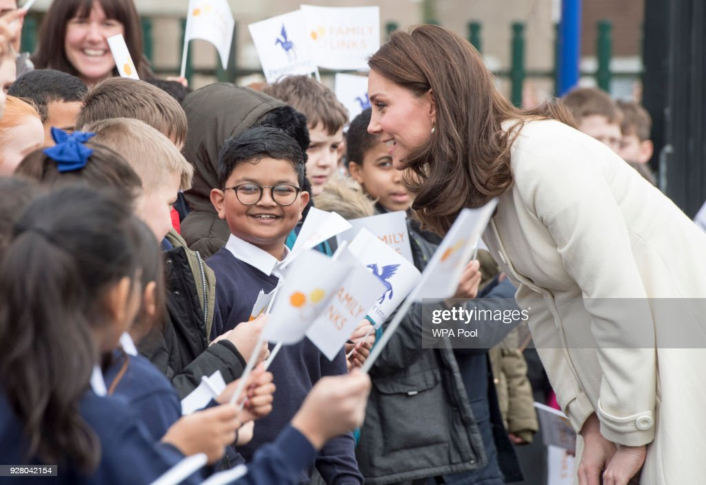 The Duchess Of Cambridge Visits Family Links : News Photo