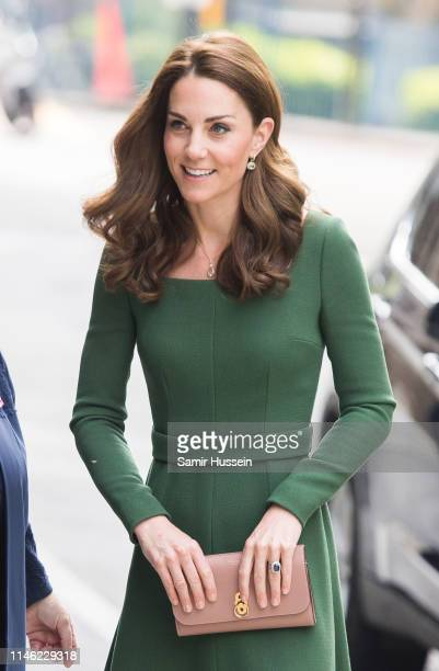 Catherine Duchess of Cambridge arrives to officially open the new Centre of Excellence at Anna Freud Centre on May 01 2019 in London England The...