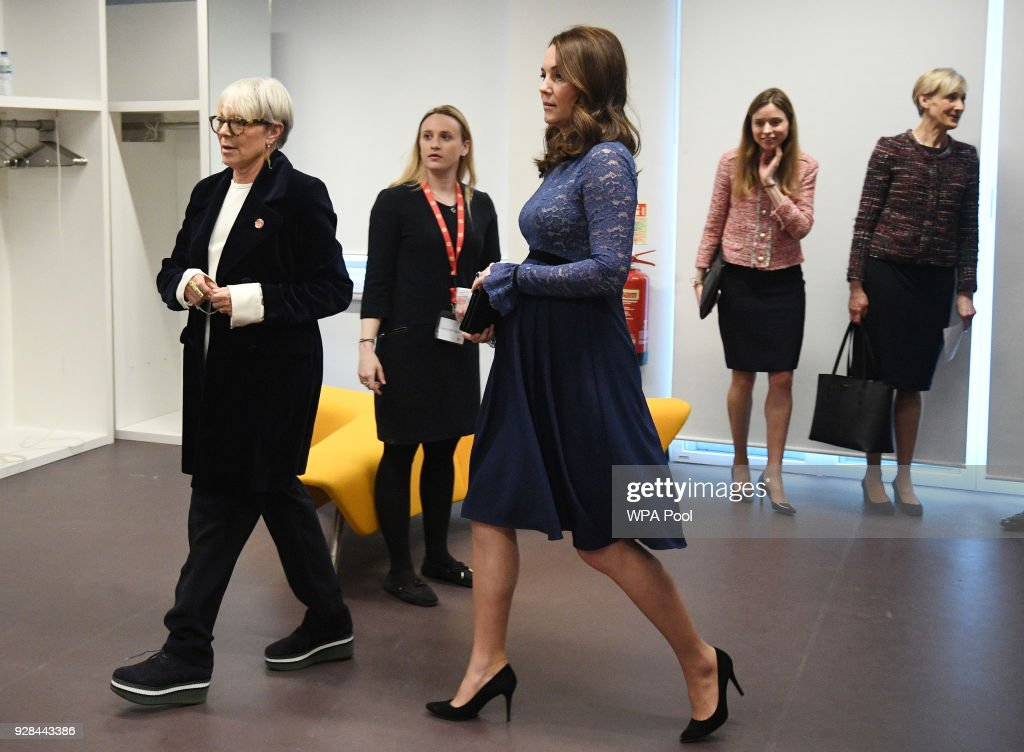 The Duchess Of Cambridge Opens New Place2Be Headquarters : News Photo