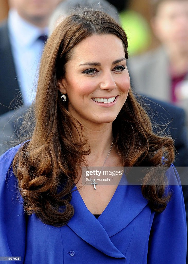 The Duchess of Cambridge Visits The Treehouse in Ipswich : News Photo