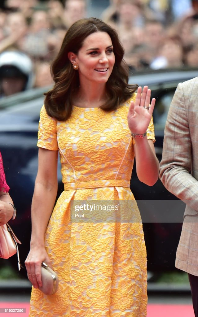 The Duke And Duchess Of Cambridge Visit Germany - Day 2 : News Photo