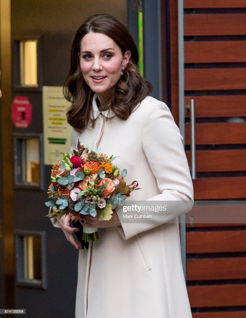 Catherine, Duchess of Cambridge at Hornsey Road Children's Centre on November 14, 2017 in London, England.