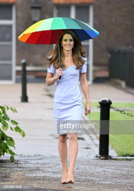 Catherine, Duchess of Cambridge at Kensington Palace on June 18, 2021 in London, England. The Duchess of Cambridge has launched her own Centre for...