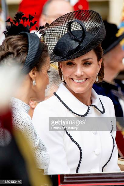 Catherine Duchess of Cambridge at St George's Chapel on June 17 2019 in Windsor England