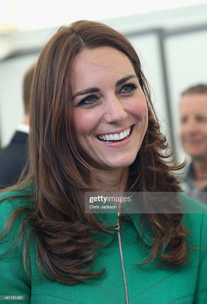 The Duke & Duchess of Cambridge And Prince Harry Attend The Tour De France Grand Depart : News Photo