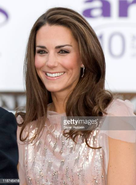 Catherine Duchess of Cambridge attend the 10th Annual ARK Gala Dinner at Kensington Palace on June 9 2011 in London England
