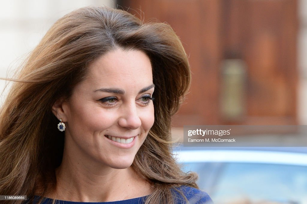 The Duke And Duchess Of Cambridge Attend The Launch Of The National Emergencies Trust : News Photo
