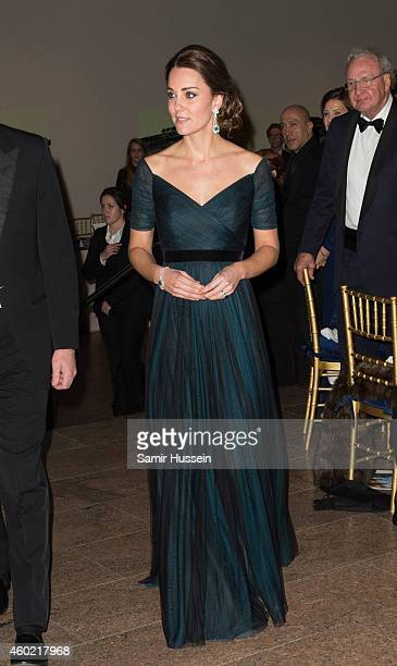 Catherine Duchess of Cambridge attend the St Andrews 600th Anniversary Dinner on December 9 2014 in New York City