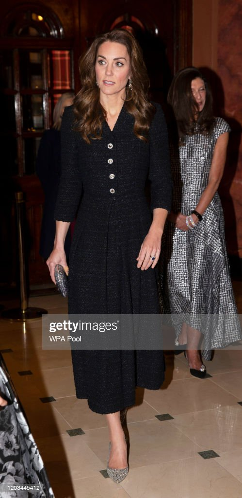 "The Duke And Duchess Of Cambridge Attend A Charity Performance Of ""Dear Evan Hansen"" : News Photo"