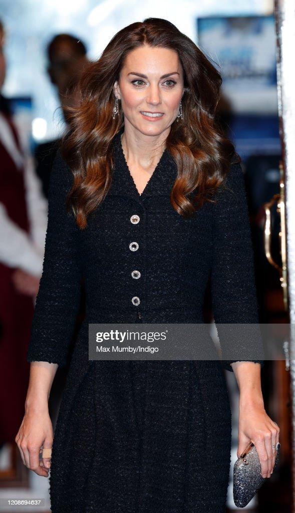 "The Duke And Duchess Of Cambridge Attend A Charity Performance Of ""Dear Evan Hansen"" : News Photo"