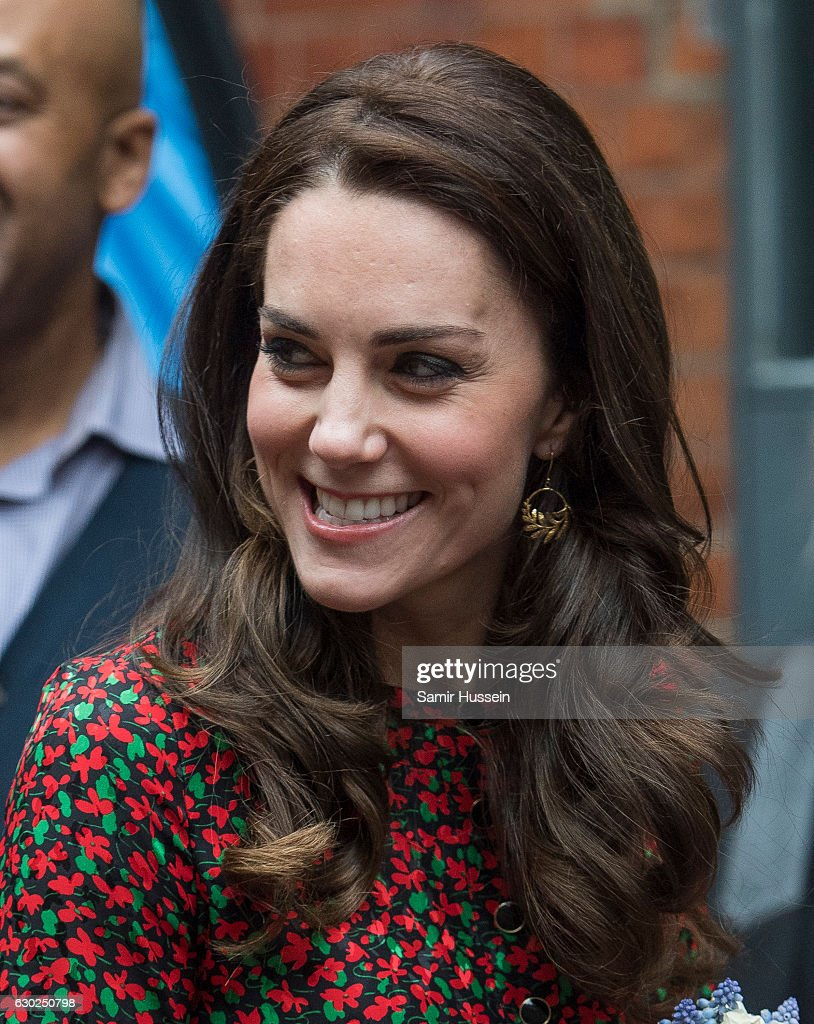 The Duke And Duchess Of Cambridge & Prince Harry Attend The Mix Christmas Party : News Photo