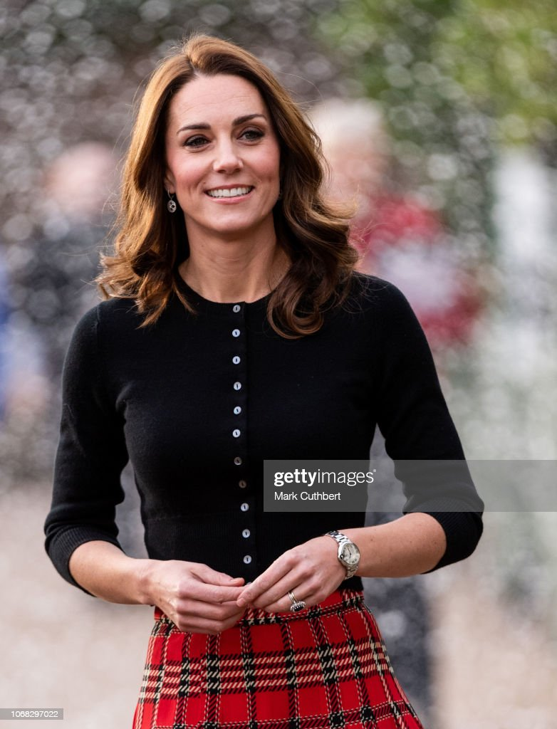 The Duke & Duchess Of Cambridge Host Christmas Party For Families Of Military Personnel Deployed In Cyprus : News Photo