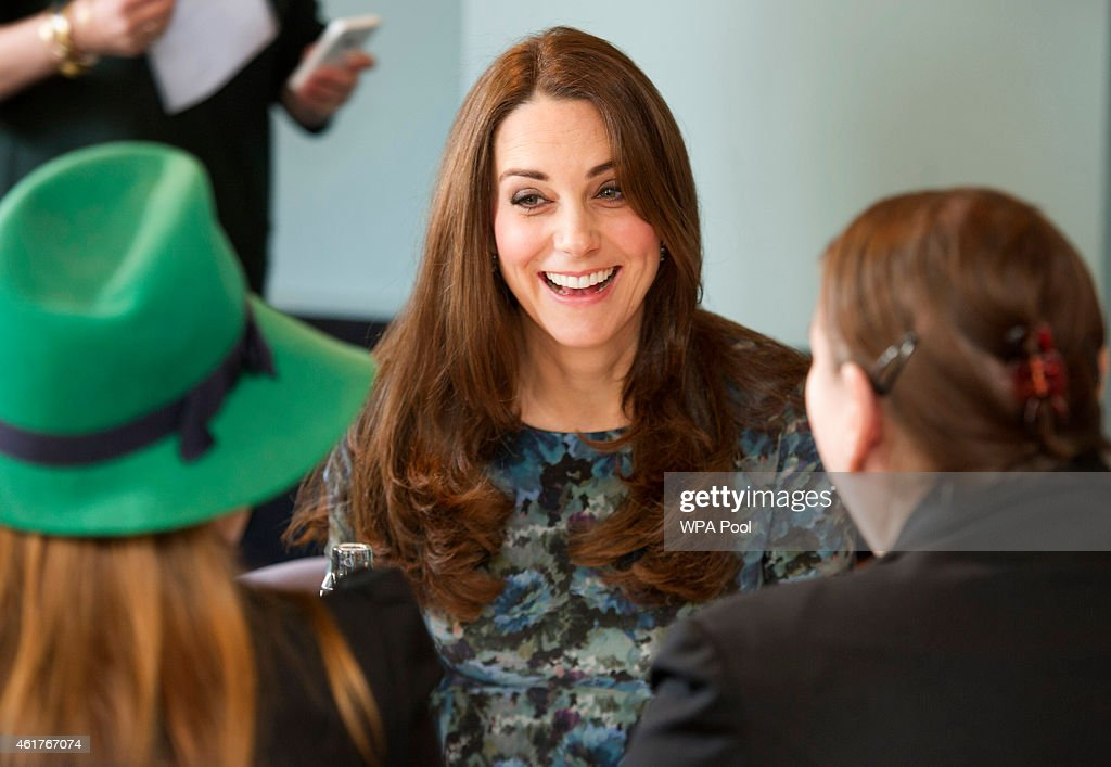The Duchess Of Cambridge Attends Coffee Morning At Family Friends