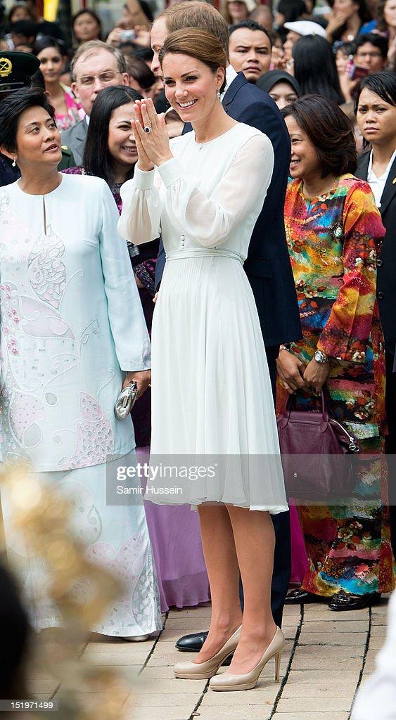 The Duke And Duchess Of Cambridge Diamond Jubilee Tour - Day 4 : News Photo