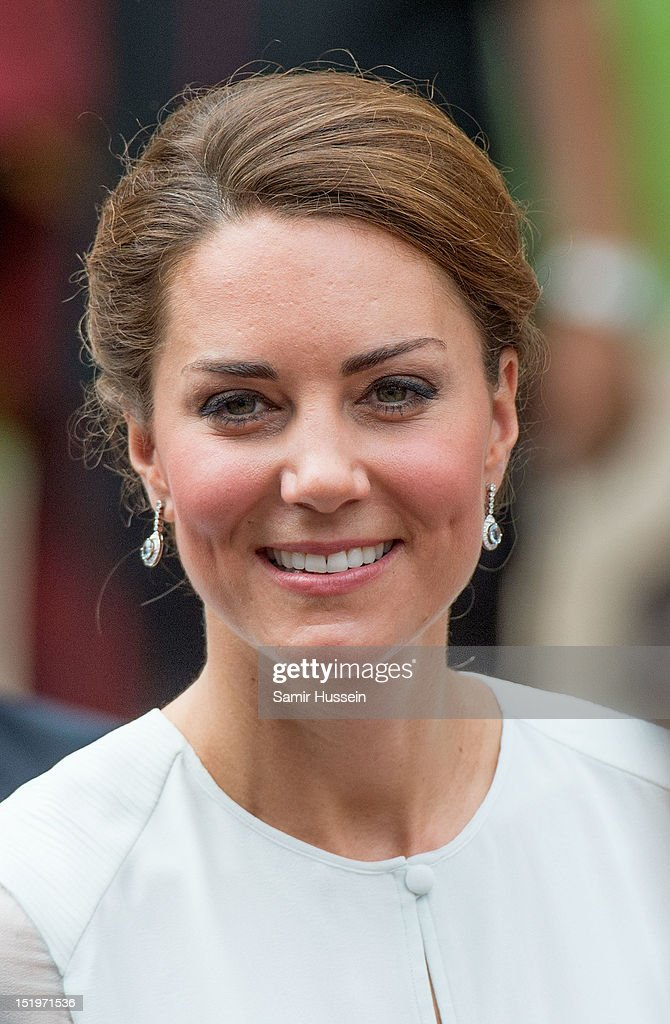 Catherine, Duchess of Cambridge attends a cultural event on day 4 of Prince William, Duke of Cambridge and Catherine, Duchess of Cambridge's Diamond Jubilee Tour of the Far East on September 14, 2012 in Kuala Lumpur, Malaysia.