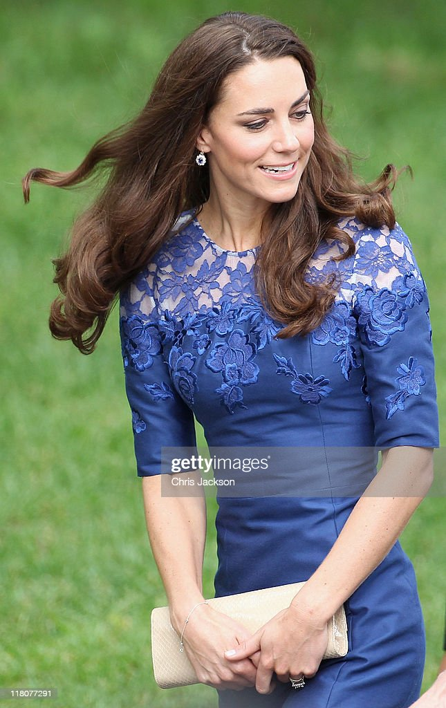 Catherine, Duchess of Cambridge attends a Freedom of the City Ceremony outside City Hall on July 3, 2011 in Quebec, Canada. The newly married Royal Couple are on the fourth day of their first joint overseas tour. The 12 day visit to North America will take in some of the more remote areas of the country such as Prince Edward Island, Yellowknife and Calgary. The Royal couple started off their tour by joining millions of Canadians in taking part in Canada Day celebrations which mark Canada's 144th Birthday.
