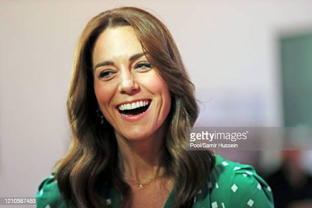 Catherine, Duchess of Cambridge attends a Galway 2020 European Capital of Culture showcase on March 05, 2020 in Galway, Ireland.