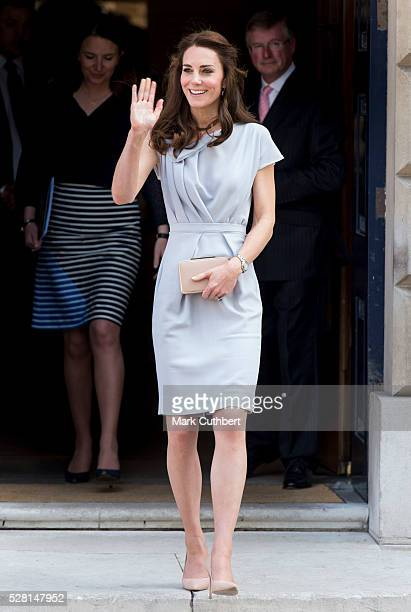 Catherine Duchess of Cambridge attends a lunch in aid of The Anna Freud Centre on May 4 2016 in London England