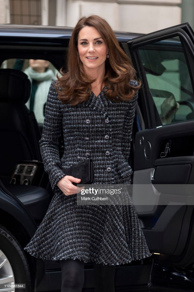 GBR: Duchess Of Cambridge Attends 'Mental Health In Education' Conference