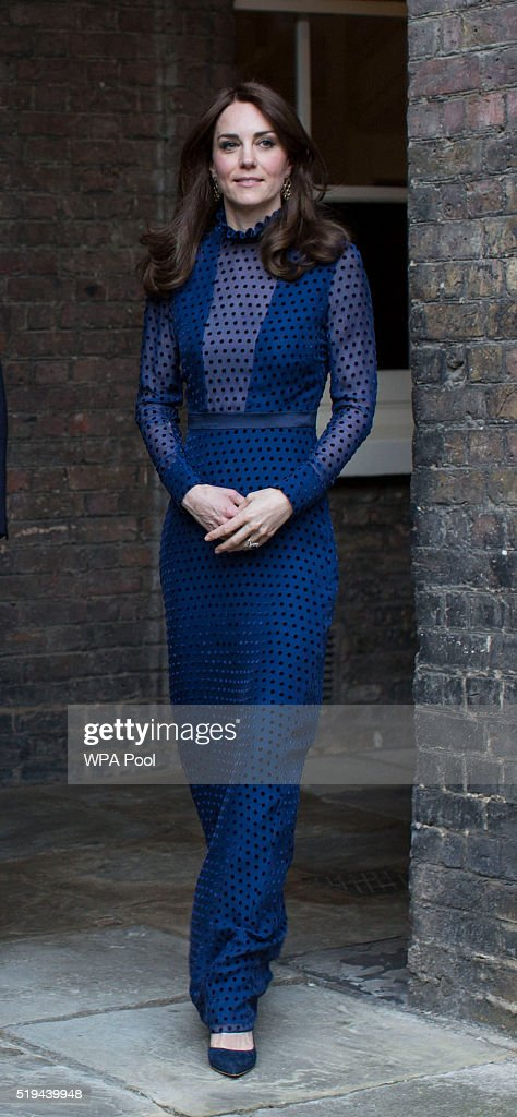 The Duke An Duchess Of Cambridge Attend Reception At Kensington Palace Ahead Of Their Tour To India & Bhutan : News Photo