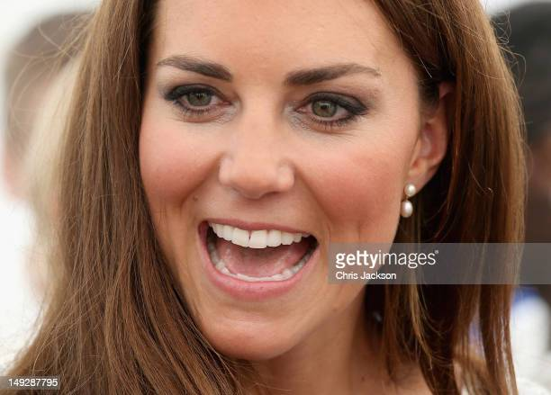 Catherine Duchess of Cambridge attends a reception as she visits Bacon's College on July 26 2012 in London England Prince Harry Prince William Duke...