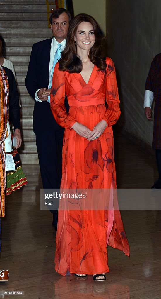 The Duke and Duchess Of Cambridge Visit India and Bhutan - Day 6 : News Photo