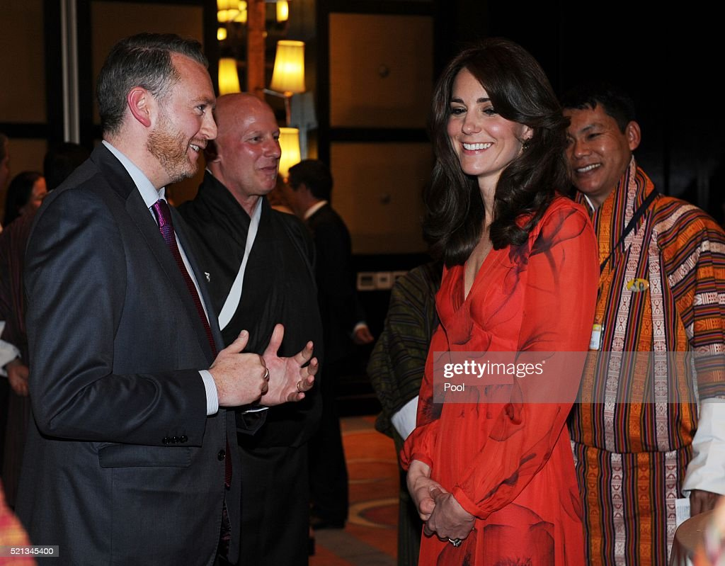 The Duke and Duchess Of Cambridge Visit India and Bhutan - Day 6 : News Photo