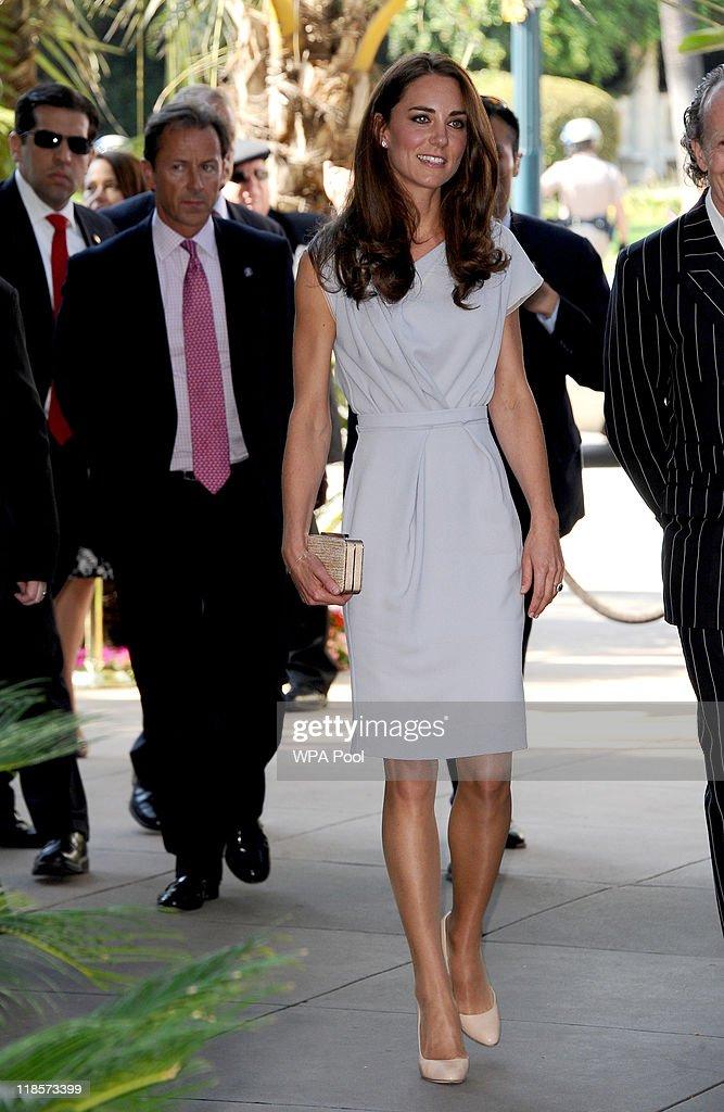 The Duke and Duchess of Cambridge Attend A UKTI/VC/Variety Summit : News Photo