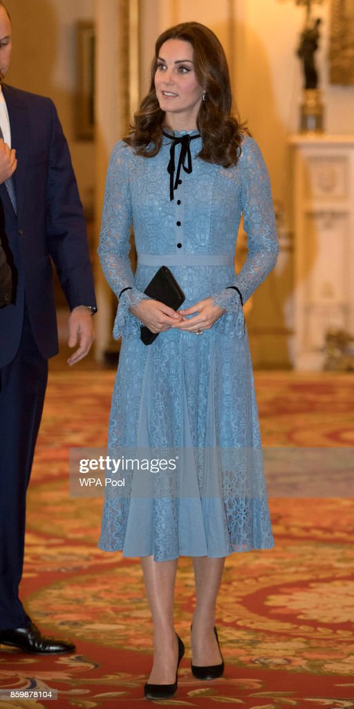 The Duke & Duchess Of Cambridge And Prince Harry Support World Mental Health Day : News Photo