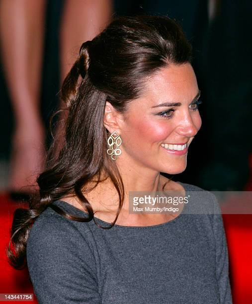Catherine Duchess of Cambridge attends a reception to help launch the Imperial War Museum Foundation's First World War Galleries Centenary Campaign...