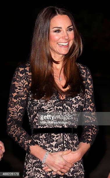 Catherine Duchess of Cambridge attends a screening of David Attenborough's Natural History Museum Alive 3D at the Natural History Museum on December...
