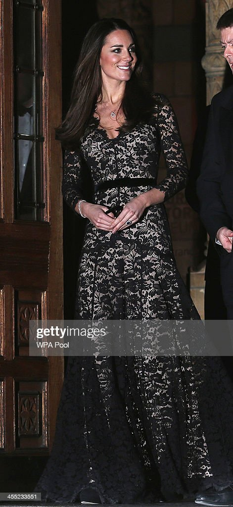 Catherine, Duchess of Cambridge attends a screening of David Attenborough's Natural History Museum Alive 3D at Natural History Museum on December 11, 2013 in London, England.
