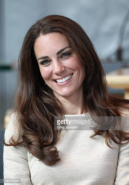 Catherine Duchess of Cambridge attends a session of Youth Parliament at the Legislative Assembly on July 5 2011 in Yellowknife Canada The newly...