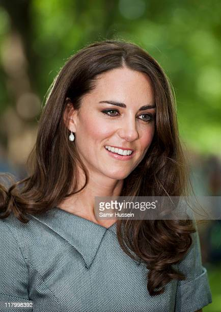 Catherine, Duchess of Cambridge attends a tree planting ceremony at Rideau Hall on day 3 of the Royal Couple's North American Tour on July 2, 2011 in...