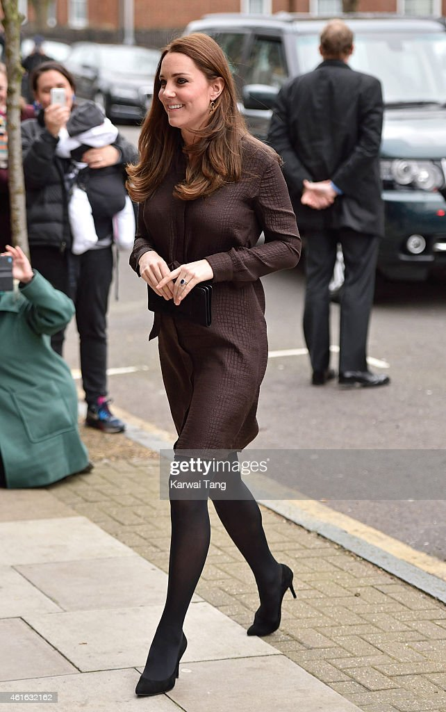 Catherine, Duchess of Cambridge attends an event hosted by The Fostering Network to celebrate the work of foster carers in providing support to vulnerable young people on January 16, 2015 in London, England.