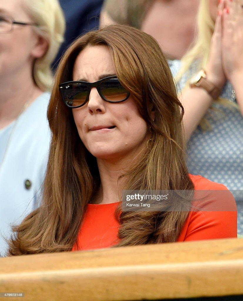 Celebrities At Wimbledon 2015 : News Photo