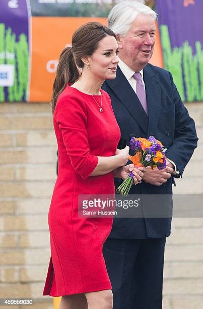 Catherine Duchess of Cambridge attends East Anglia's Children's Hospices appeal launch at Norfolk Showground on November 25 2014 in Norwich England