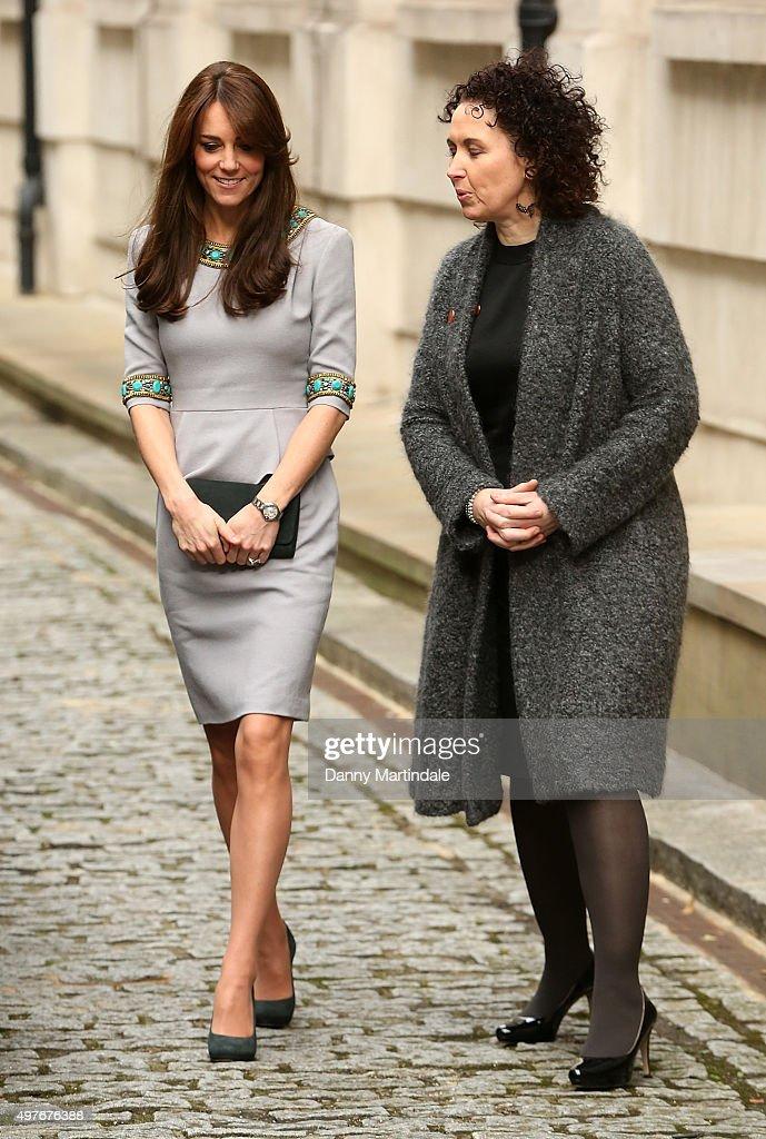 The Duchess Of Cambridge Attends Place2Be Headteacher Conference : Nachrichtenfoto
