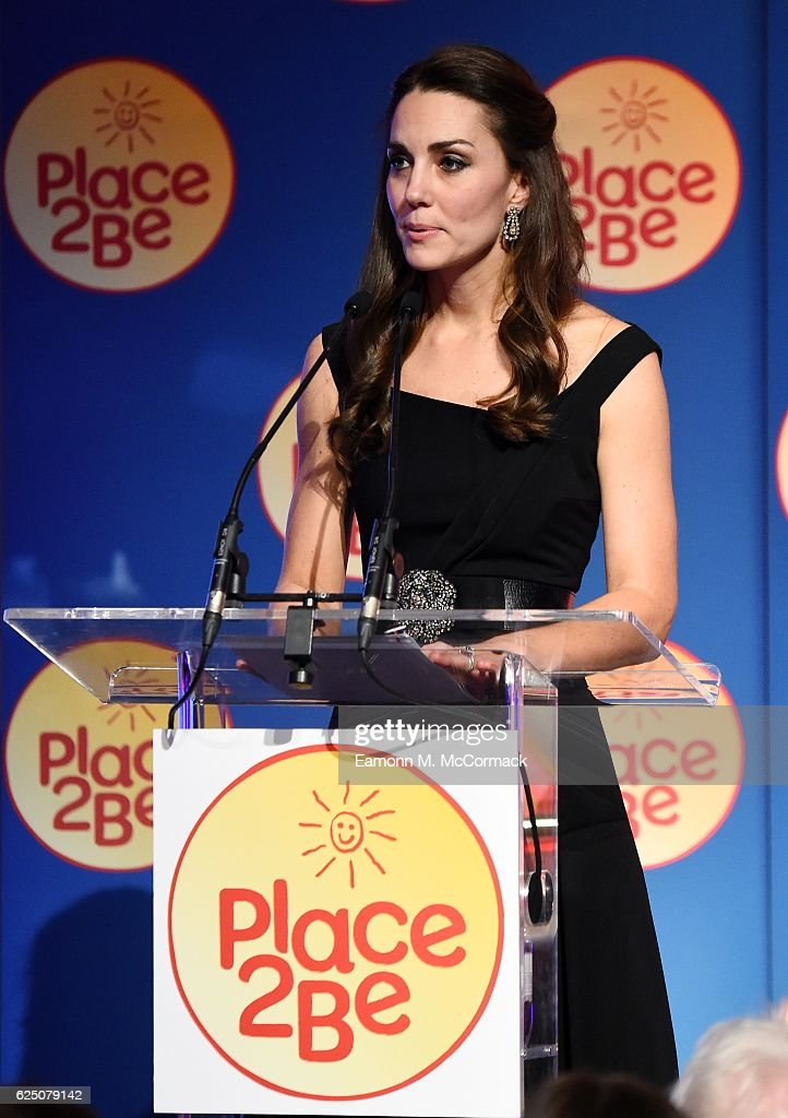 Catherine, Duchess of Cambridge attends Place2Be Wellbeing in Schools Awards at Mansion House on November 22, 2016 in London, United Kingdom.