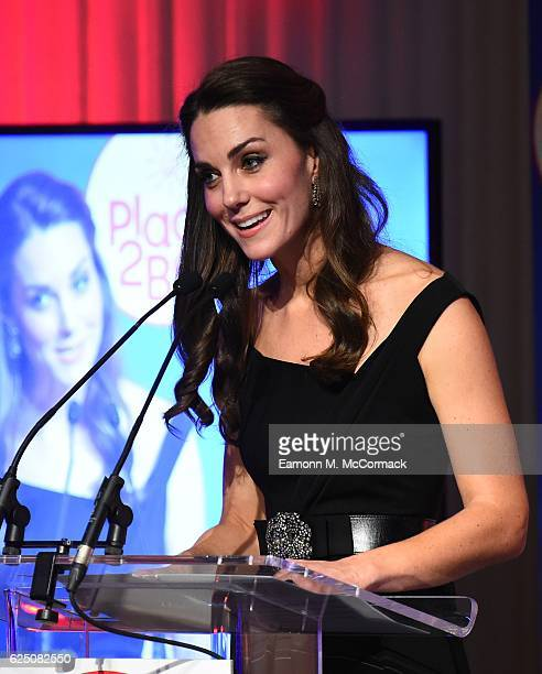 Catherine Duchess of Cambridge attends Place2Be Wellbeing in Schools Awards at Mansion House on November 22 2016 in London United Kingdom