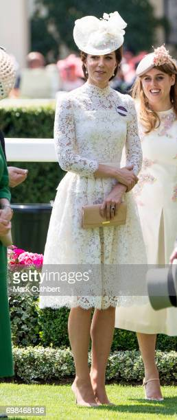 Catherine Duchess of Cambridge attends Royal Ascot 2017 at Ascot Racecourse on June 20 2017 in Ascot England