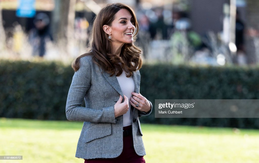 The Duke And Duchess Of Cambridge Attend Shout's Crisis Volunteer Celebration Event : News Photo