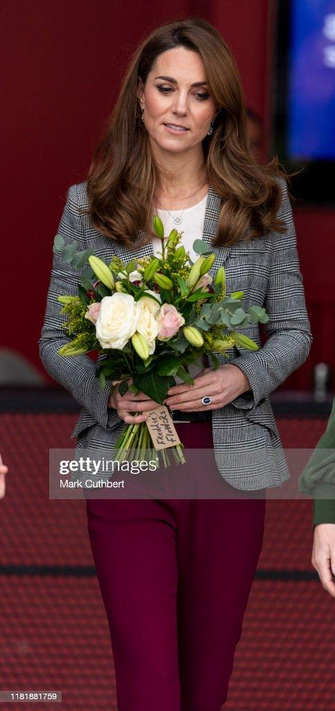 The Duke And Duchess Of Cambridge Attend Shout's Crisis Volunteer Celebration Event : Foto di attualità
