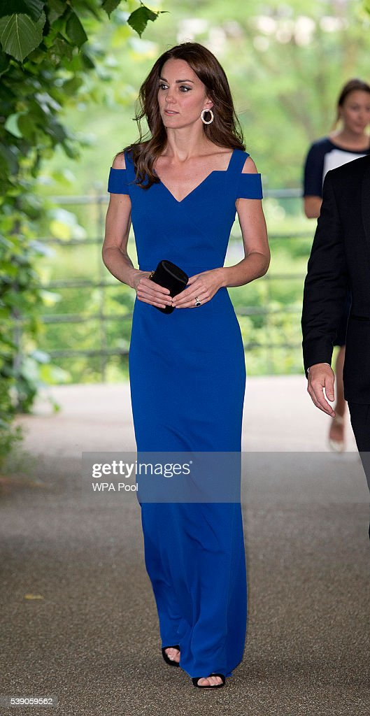 The Duchess Of Cambridge Attends The 40th Anniversary Of SportsAid : News Photo