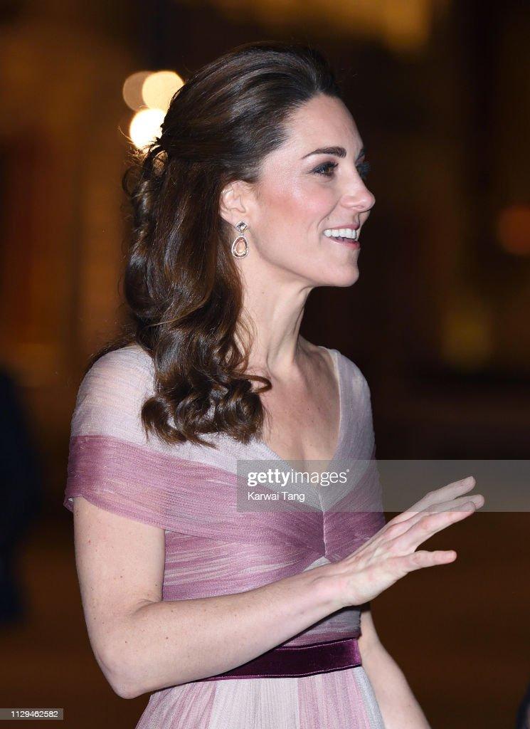 The Duchess Of Cambridge Attends 100 Women In Finance Gala Dinner : News Photo