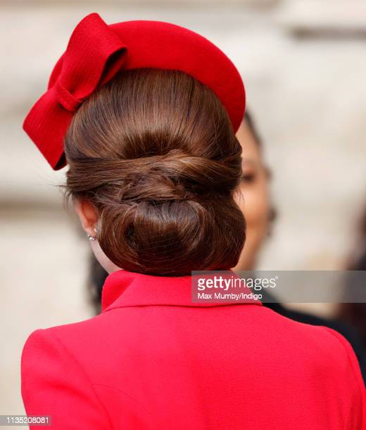 Catherine, Duchess of Cambridge attends the 2019 Commonwealth Day service at Westminster Abbey on March 11, 2019 in London, England.