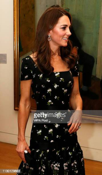 Catherine Duchess of Cambridge attends the 2019 Portrait Gala at the National Portrait Gallery on March 12 2019 in London England