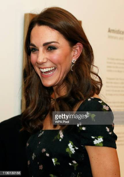 Catherine, Duchess of Cambridge attends the 2019 Portrait Gala at the National Portrait Gallery on March 12, 2019 in London, England.