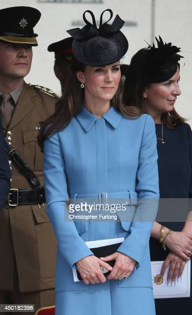 Catherine, Duchess of Cambridge attends the 70th anniversary of the D-Day landings on June 6, 2014 in Arromanches Les Bains, France. Friday 6th June...