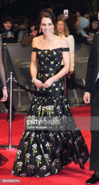 Catherine Duchess of Cambridge attends the 70th EE British Academy Film Awards at Royal Albert Hall on February 12 2017 in London England